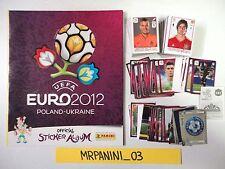 EURO 2012 Panini - ALBUM + Set Completo Figurine-stickers