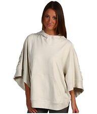 Stella McCartney Adidas SZ L XL White Hoodie Pull-On Jacket 3/4 Sleeve
