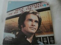 MERLE HAGGARD AND THE STRANGERS IT'S ALL IN THE MOVIES VINYL LP ALBUM 1973 EX