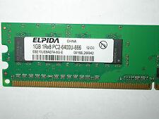 1gb Elpida 240 pin ddr2-ram Ebe 10 UE 8 AEFA-memoria 8g-e 1rx8 pc2-6400u-666