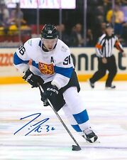 JUSSI JOKINEN signed FLORIDA PANTHERS 8X10 WORLD CUP PHOTO COA