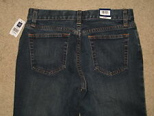 GAP Size 2 R Long & Lean Stretch Denim Dark Blue Flare Womens Jeans New With Tag