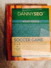 Danny Seo Wooden Soccer Puzzle Brain Teaser Mandalay Box Co Collectible Gift