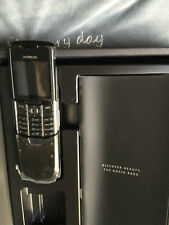 New Nokia 8800 Classic Black RM-13 Unlocked GSM Mobile Phone Made in Germany