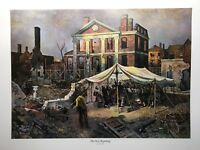 The New Beginning Lithograph By John Falter -Bicentennial Series-1975 3M Company