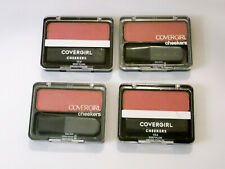 (4) CoverGirl Cheekers Blendable Powder Blush 'Deep Plum' #154, LOT