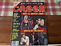 Creem Magazine February 1985 Ratt Motley Crue Elvis Costello Kiss no label crisp