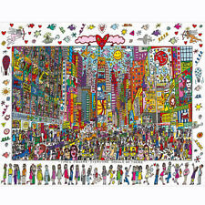 1000 Piece Jigsaw Puzzle for Adults Kids Gift - Educational Toy - Time Square