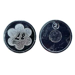 L2 Tokens Coin Prepayment Meter Pack Of 10 20 40 60 Sunbed Salon Dryer Wash Gym