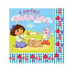 20 Dora the Explorer Paper Party Celebrations Napkins Serviettes
