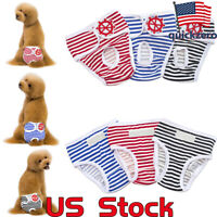 Pet Female Dog Diapers Washable Pants Underwear Physiological Sanitary Sanitary