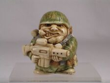 Harmony Kingdom / Ball Pot Bellys Belly 'Peace Keeper'-Soldier #Pbpso New In Box
