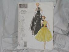 Vogue Vintage Model Pattern #V2962 Original 1957 Design Dress Aax 4 6 8 10