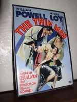 The Thin Man with William Powell & Myrna Loy (DVD, 2005, B&W)