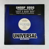 "SNOOP DOGG ft. TYRESE & MR. TAN Just A Baby Boy 0121589861 12"" Vinyl VG++"