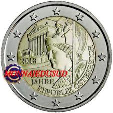 2 Euro Commémorative Autriche 2018 - République Autrichienne