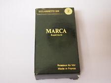 MARCA CLARINET SIB REEDS 2  Strength QTY 12 REEDS