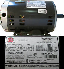 US Motors / Polyphase P63TYCJE-2724 200-230/460V 3Ph 60Hz 2HP 1725RPM
