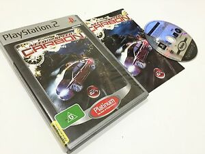 NEED FOR SPEED CARBON PS2 PLAYSTATION 2