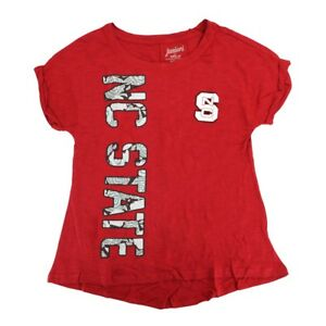 """NC State Wolfpack NCAA Youth Red """"Supernova"""" T-Shirt"""