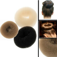 Hair Bun Donut Magic Hairstyle Doughnut Shape Maker Volumizing Updo Grip Foam