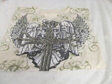 RING OF FIRE XL Graphic Tee EUC Cross Eagle