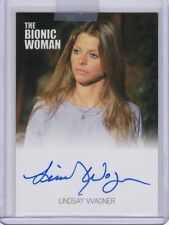 Bionic Collection/Woman Autograph card Lindsay Wagner/Jamie Sommers auto