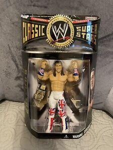 WWE Jakks Classic Superstars British Bulldog Davey Boy Smith Series 7 MOC!!