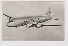 Vintage rppc American Airlines AA Douglas dc-4 aircraft