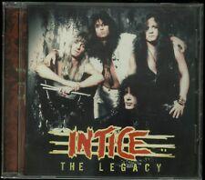 Intice The Legacy CD new Indie Hair Metal reissue Taste The Night