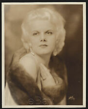 "Original 1930 JEAN HARLOW 8"" x10"" portrait HELL'S ANGELS (Family Provenance)"