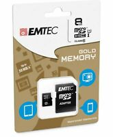 Emtec Memory SD Card 8GB Class 10 85MB/s SDHC Camera Laptop Mobile Camcoders AP