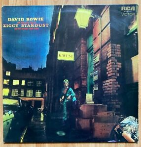 David Bowie, The Rise and Fall of Ziggy Stardust and the Spiders from Mars