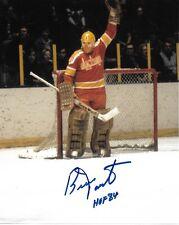 Oklahoma City Blazers Bernie Parent Autographed Signed 8x10 NHL Photo COA A2