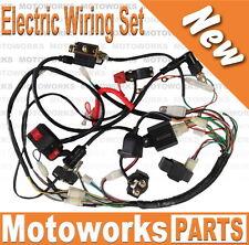 Full Electrics wiring harness 50cc 70cc 110cc 125c ATV Quad Bike Buggy gokart A1