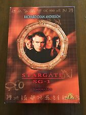 STARGATE SG1 TEMPORADA 4 COMPLETA + EXTRAS - 6 DVD - 929 MIN USADO BUEN ESTADO