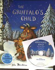 Julia Donaldson Story Book & CD: THE GRUFFALOS CHILD BOOK & CD, Story & CD - NEW