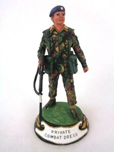 Charles Stadden Pewter Figure Studio Painted Private Combat Dress Rare