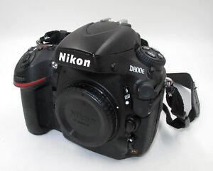*EXCELLENT* NIKON D800E 36.3MP DIGITAL SLR CAMERA BODY ONLY W/BATTERY & STRAP