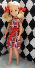 Vintage Pedigree bunches Sindy in original dress