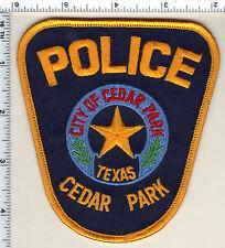 Cedar Park Police (Texas) Shoulder Patch from 1993