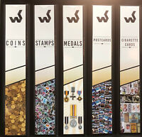 WESTGATE STAMP / COIN / MEDAL / POSTCARD / CIG CARD 4 RING ALBUM + SPINE POCKET