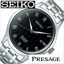 2018 New!! Seiko PRESAGE SARY099 Stamped Face See-Through Back Men's Watch Japan