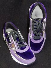 Brooks Heritage Regent  Deep Purple Silver Running Shoes Men's 11