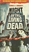 Night of the Living Dead (VHS) Cool Artwork! George Romero! Zombies!