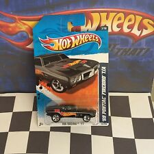 Hot Wheels 2011 Racing 7/10 157 '69 Pontiac Firebird  T/A Black 5sp