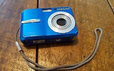 Samsung Digimax S860 8.1MP Digital Camera - Blue