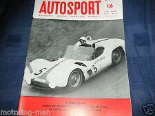 Stirling MOSS camoradi Maserati Birdcage Nurburgring 1000km 1960 PORSCHE 718 TSD