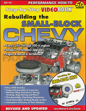 How to Rebuild Small-Block Chevrolet V8 Engine Book and DVD 1955-1994 Chevy