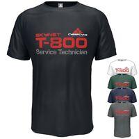 T800 T-Shirt Terminator Skynet Inspired Birthday Gift Vintage Style S-5XL